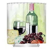 French Tradition Shower Curtain