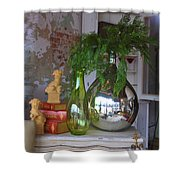 French Vases Shower Curtain