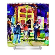 Frenchman Street Shower Curtain