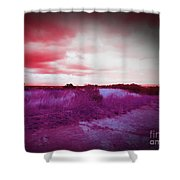 Fresca Sky  Shower Curtain