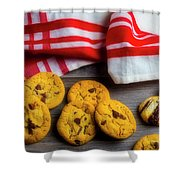 Fresh Baked Cookies Shower Curtain