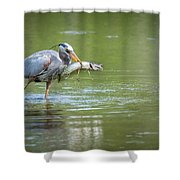 Fresh Catch Of The Day Shower Curtain