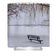 Fresh Fallen Snow Shower Curtain