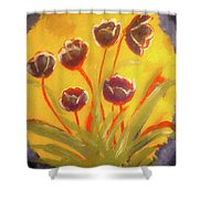 Fresh Flowers- 2nd In Series- The Dawn Shower Curtain