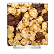 Fresh Gourmet Popcorn In Filled Frame Layout  Shower Curtain
