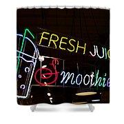 Fresh Juices Shower Curtain
