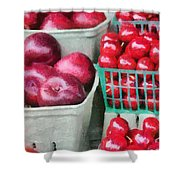 Fresh Market Fruit Shower Curtain