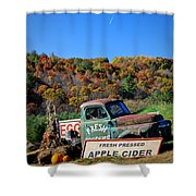 Fresh Mountain Produce Shower Curtain