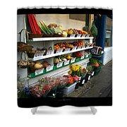 Fresh Produce Shower Curtain
