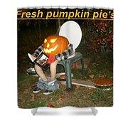 Fresh Pumpkin Pie's Shower Curtain