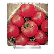 Fresh Ripe Tomatoes Shower Curtain