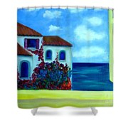 Fresh Sea Air Shower Curtain