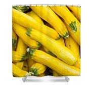 Fresh Yellow Squash  Shower Curtain