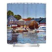 Freshwater Fishers Shower Curtain