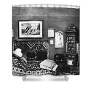Freuds Consulting Room Shower Curtain