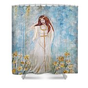 Freya - Goddess Of Love And Beauty Shower Curtain