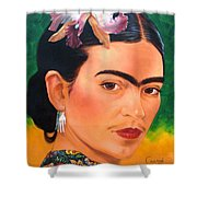 Frida Kahlo 2003 Shower Curtain