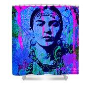 Frida Kahlo Street Pop Art No.1 Shower Curtain