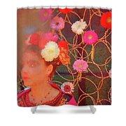 Frida Kalho Inspired Shower Curtain