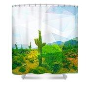 Frida Sonora Shower Curtain by MB Dallocchio