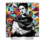 Frida Stay True Shower Curtain