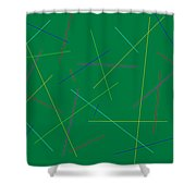 Friday At Ten Shower Curtain