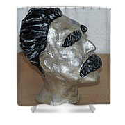 Friedrich Nietzsche Shower Curtain