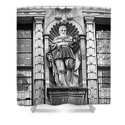 Friedrich The Wise B W Shower Curtain