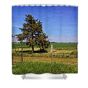 Frieling Cemetery  Shower Curtain