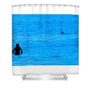 Friend Or Foe Shower Curtain