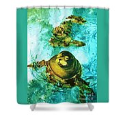 Friendly Persuasion Shower Curtain
