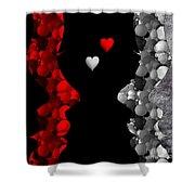 Friends -2- Shower Curtain