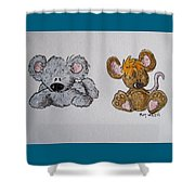 Friends 2 Shower Curtain