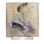 Friends Of A Feather Shower Curtain