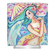 Friends Of The East Sea Shower Curtain