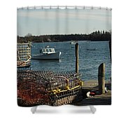 Friendship Morning Shower Curtain