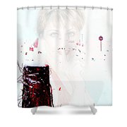 Frigid Shower Curtain