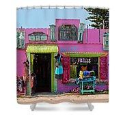 Frills Gallery Shower Curtain