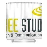 Frisbee Studios Shower Curtain