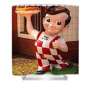 Frisch's Big Boy Shower Curtain