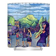 Frisco Bbq Festival 2017 Shower Curtain