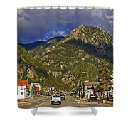 Frisco By The Mountain Shower Curtain
