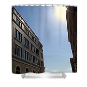 Frisco Square Shower Curtain