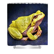Frog - Id 16236-105000-7516 Shower Curtain