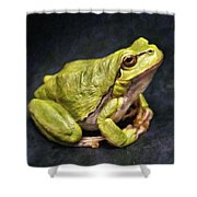 Frog - Id 16236-105016-7750 Shower Curtain