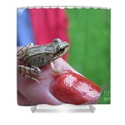 Frog The Prince Shower Curtain