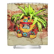 Froggy 1 Shower Curtain