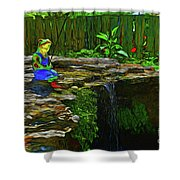 Froggy 11318 Shower Curtain