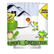 Frogs  Shower Curtain