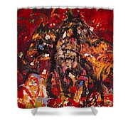 Frolicking Outdoors Shower Curtain